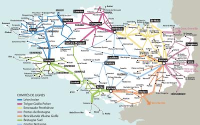Usagers des TER et Lignes de cars régionaux